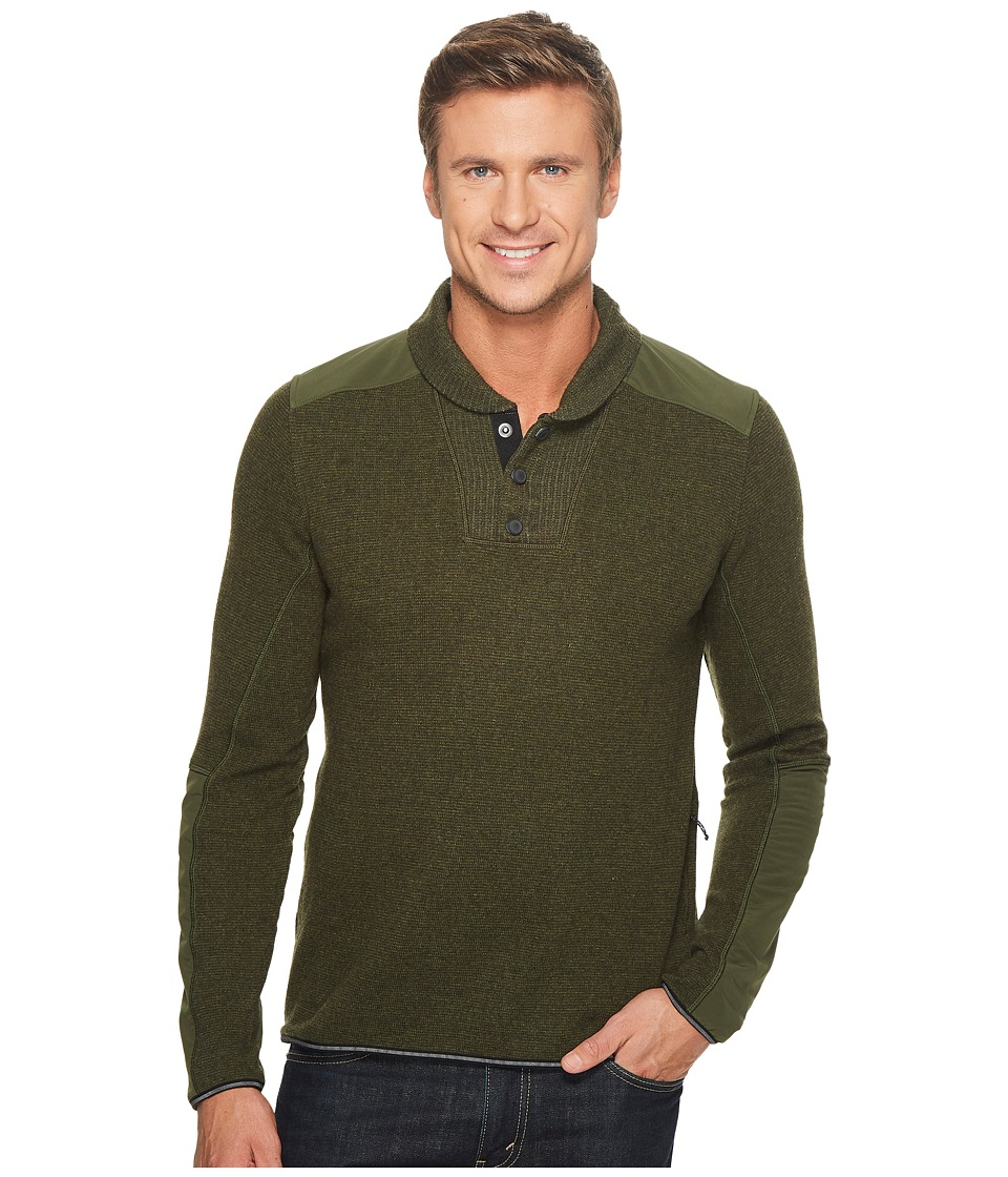 Mountain Hardwear MTN Tactical Pullover Sweater (Surplus Green) Men