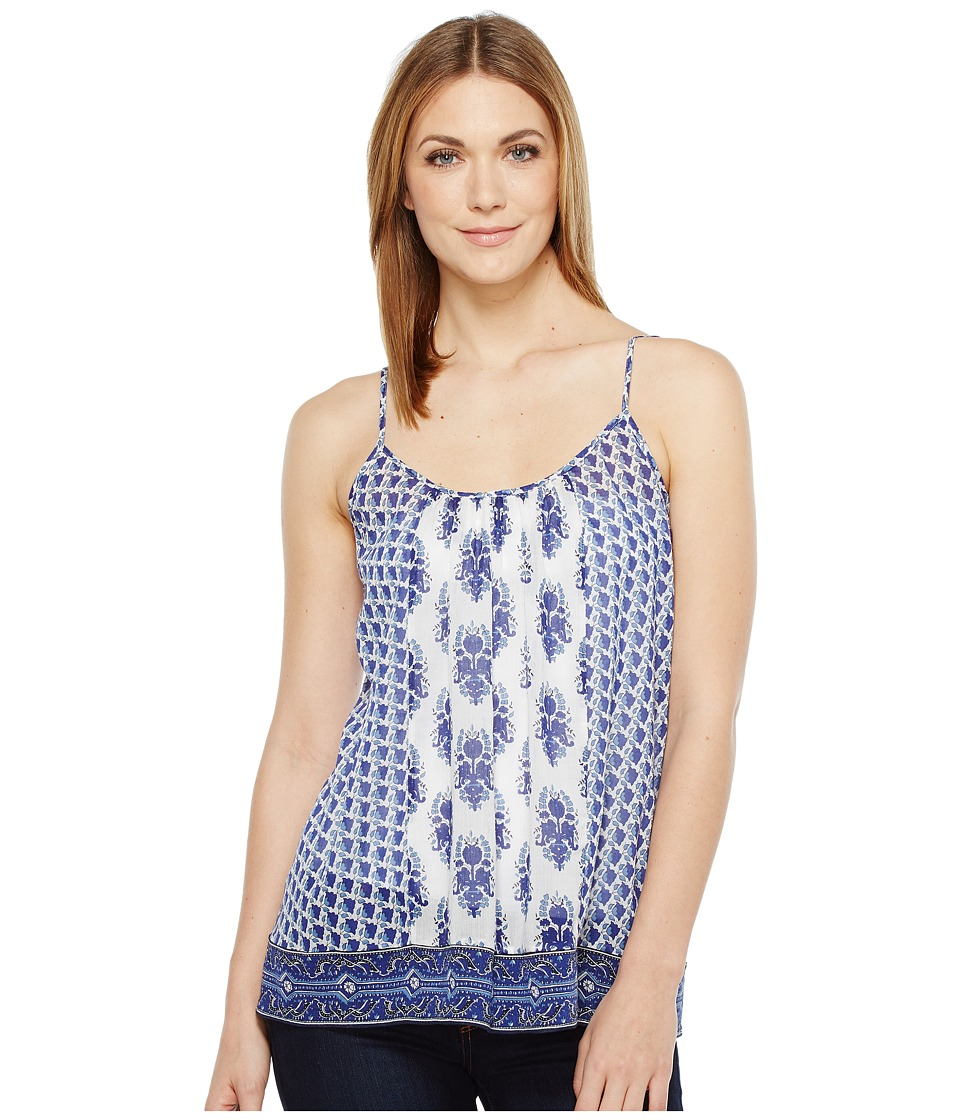 Joie - Sparkle C 5165-24216C (Porcelain/Atlantic Blue) Women's Sleeveless