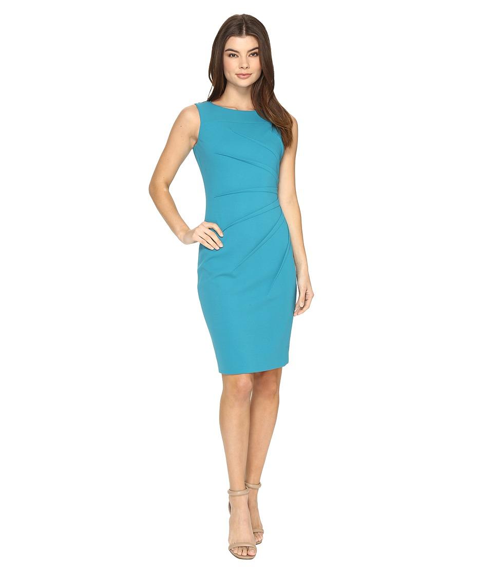 Calvin Klein - Starburst Sheath CD7C1B4P (Lagoon) Women's Dress