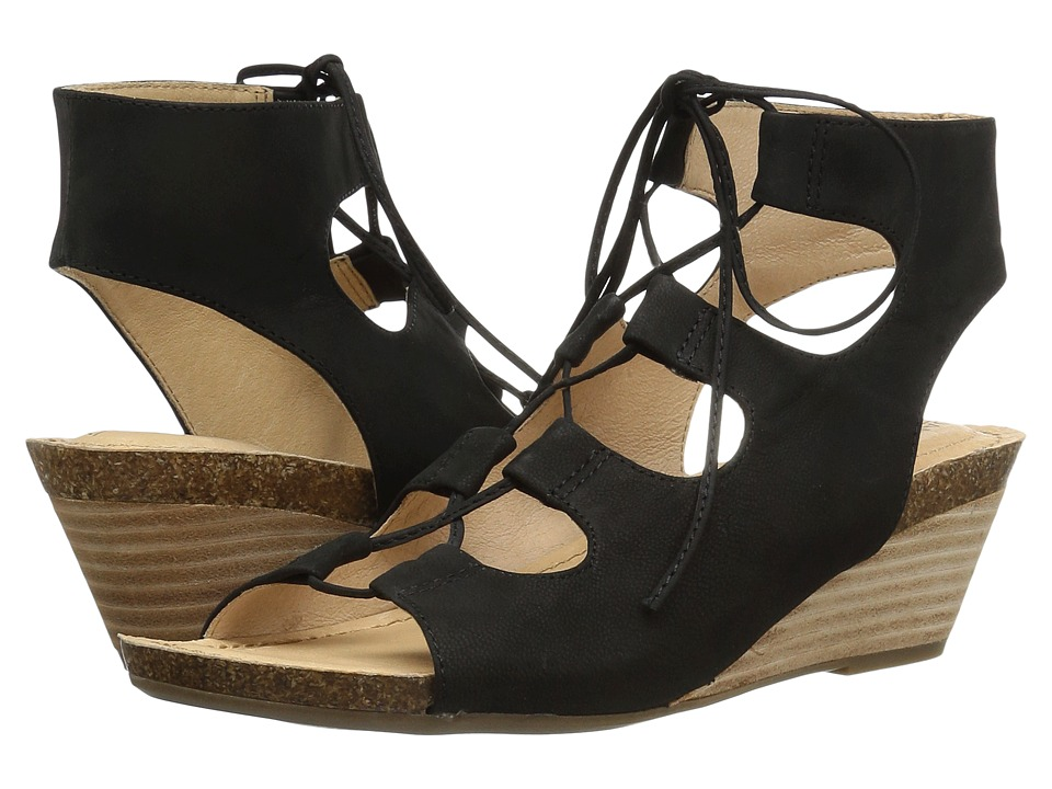 Me Too - Adam Tucker Tami 8 (Black Nubuck) Women's Sandals