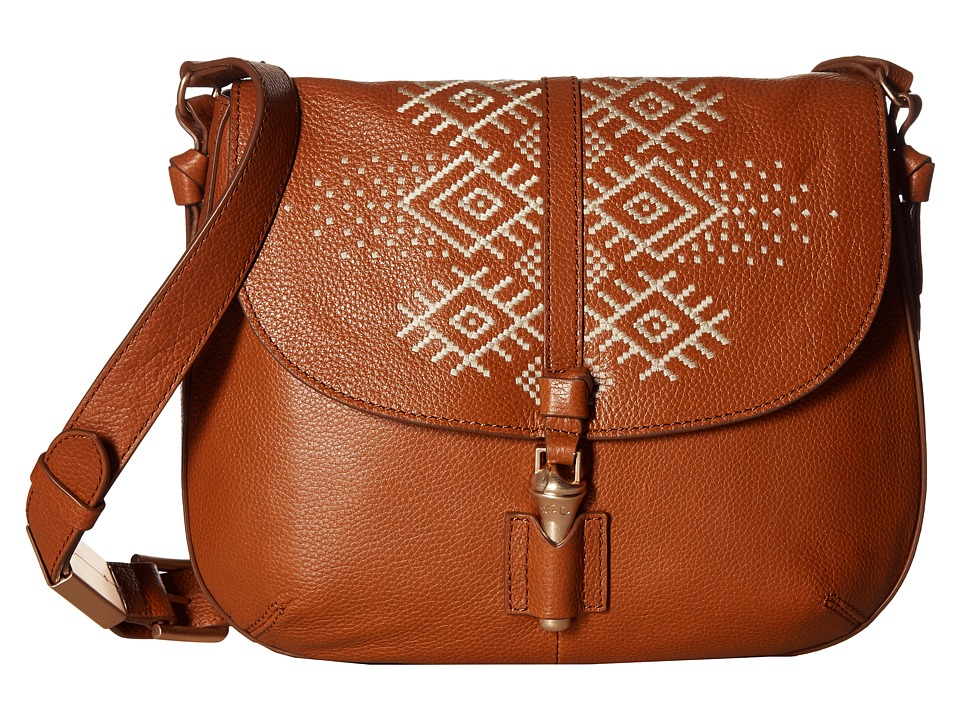 Foley & Corinna - Zamora Saddle Bag (Honey Brown) Bags