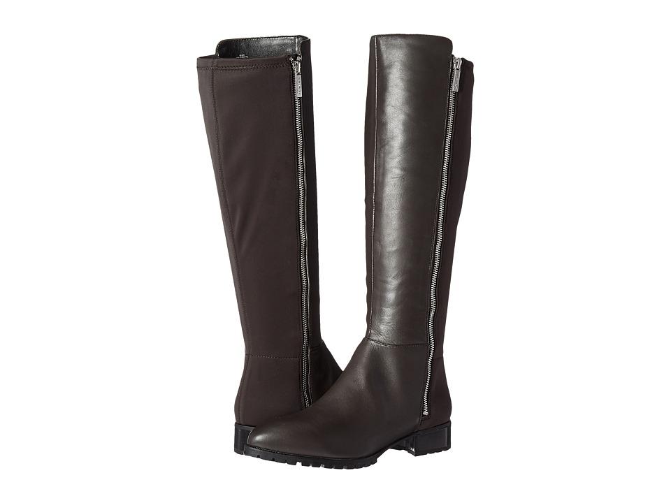 Nine West - Legretto (Dark Grey/Dark Grey Leather) Women's Shoes