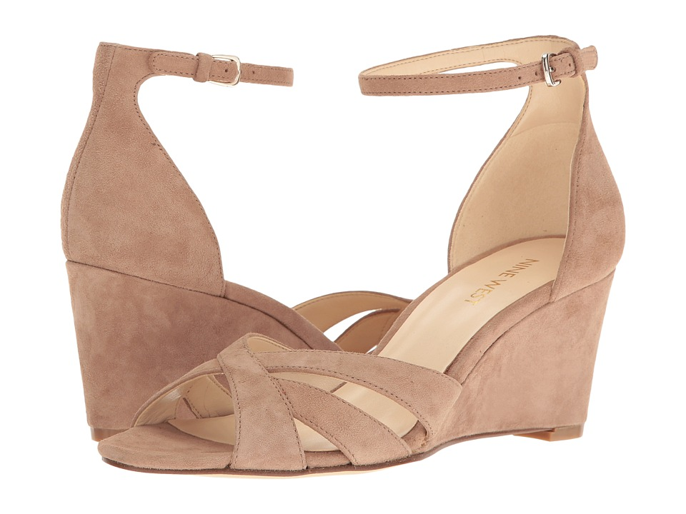 Nine West - Nessi (Natural Suede) Women's Shoes