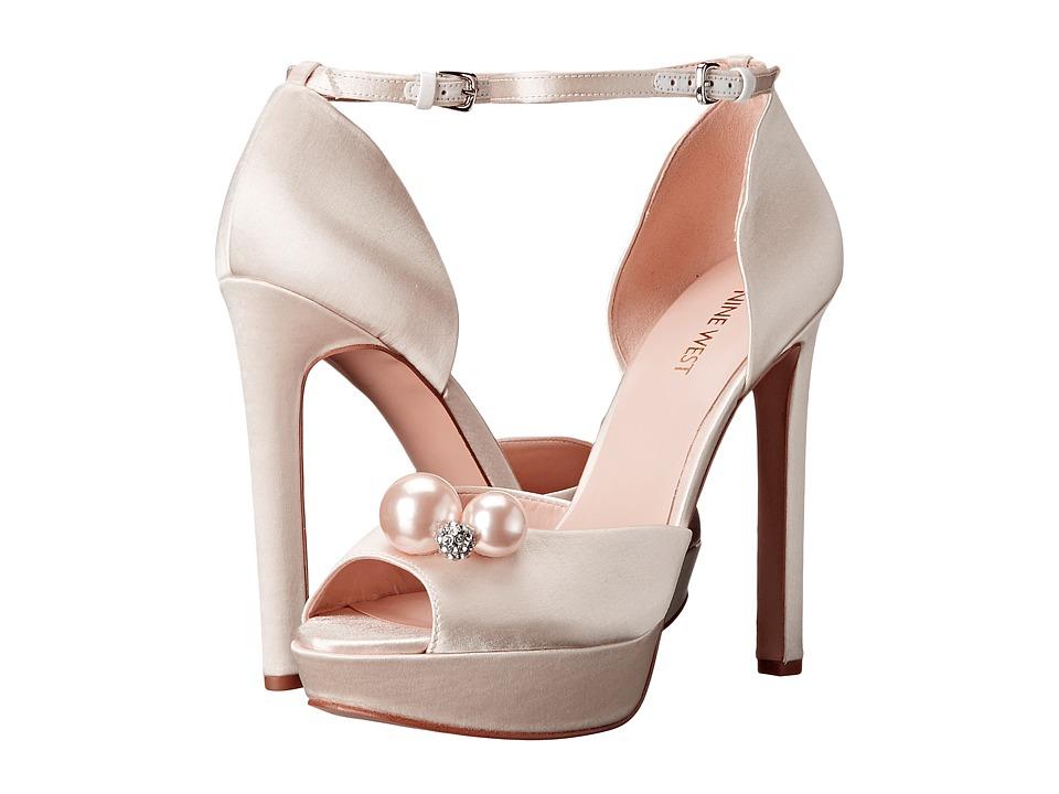 Nine West - Vidah (Off-White Satin) Women's Shoes