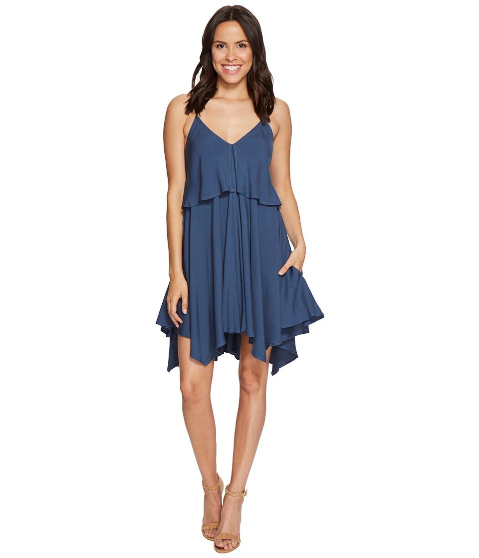 Jack by BB Dakota Auda Rayon Twill Handkerchief Dress (Cornflower Blue) Women