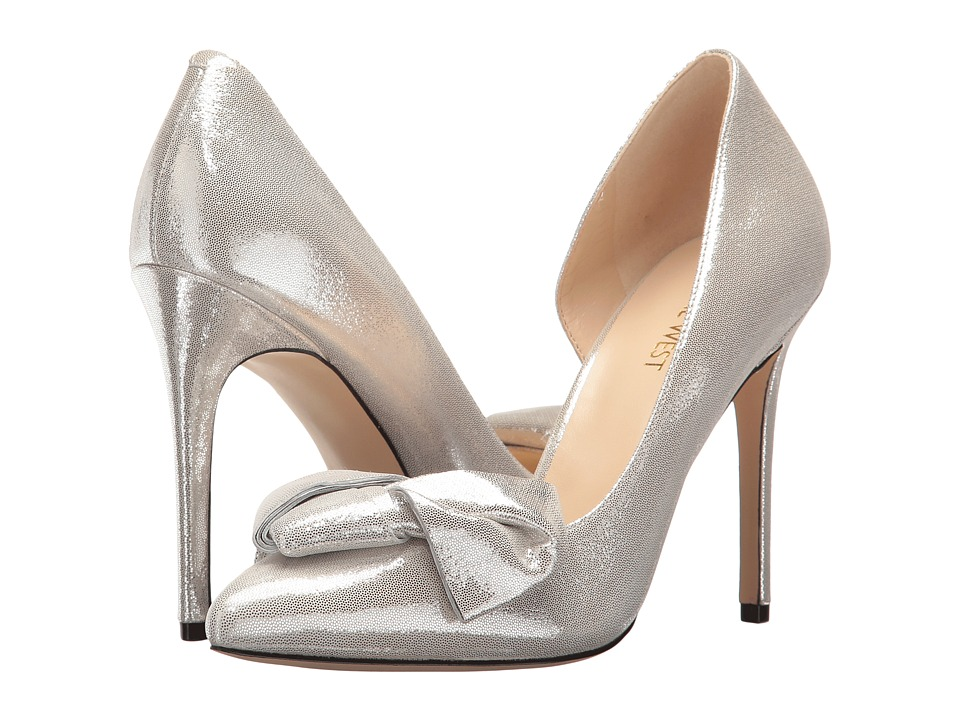 Nine West - Edelina (Silver Metallic) Women's Shoes