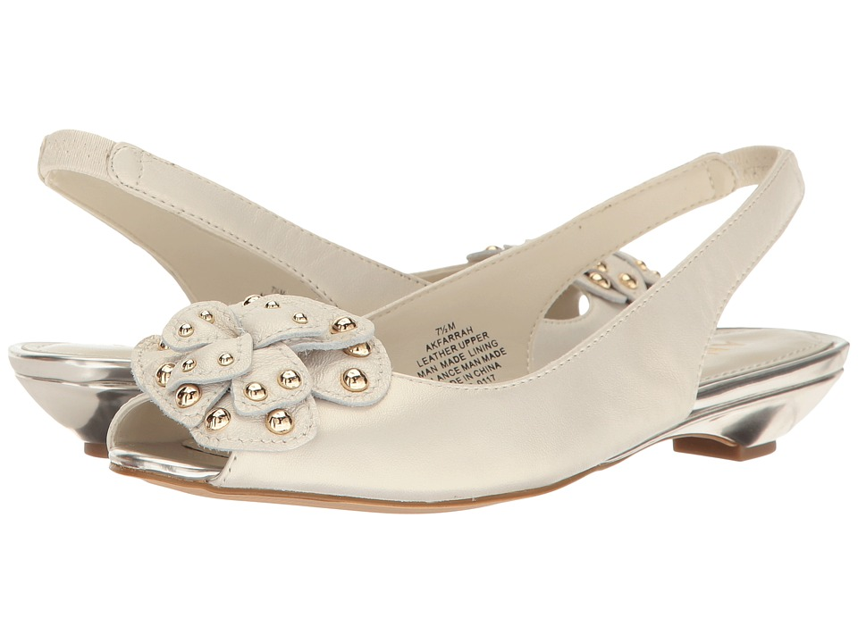 Anne Klein Farrah (Ivory Leather) Women
