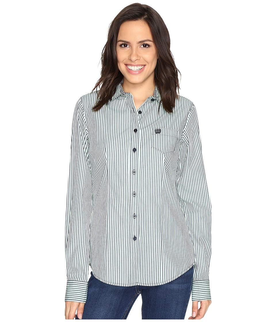 Cinch - Plain Weave Stripe (Mint) Women's Clothing