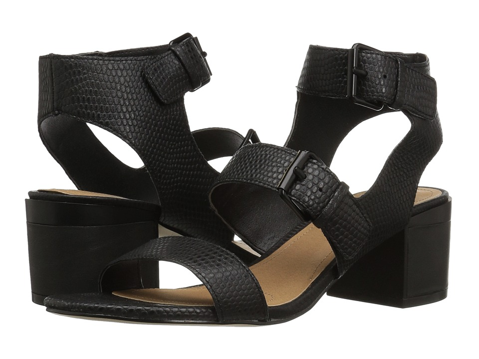 Tahari - Dalton (Black Karrung/Calf) High Heels