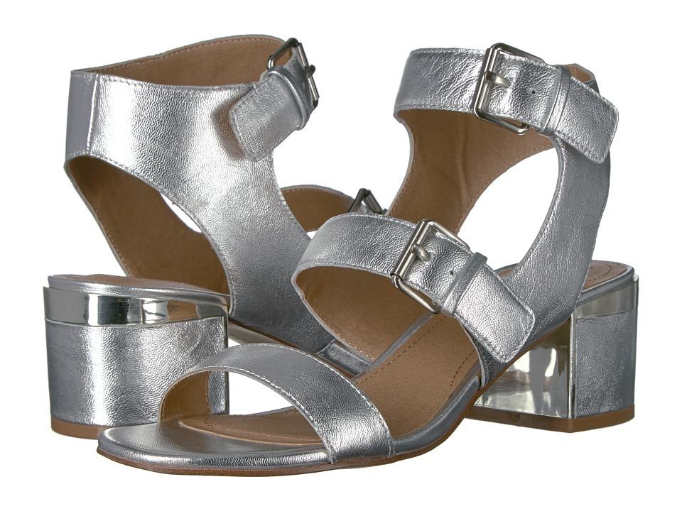 Tahari - Dalton (Silver Jersey Metal) High Heels