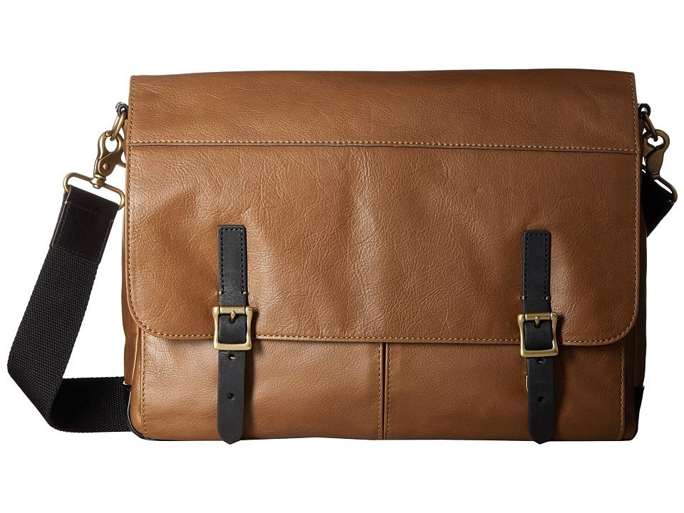 Fossil - Defender Messenger (Cognac) Messenger Bags