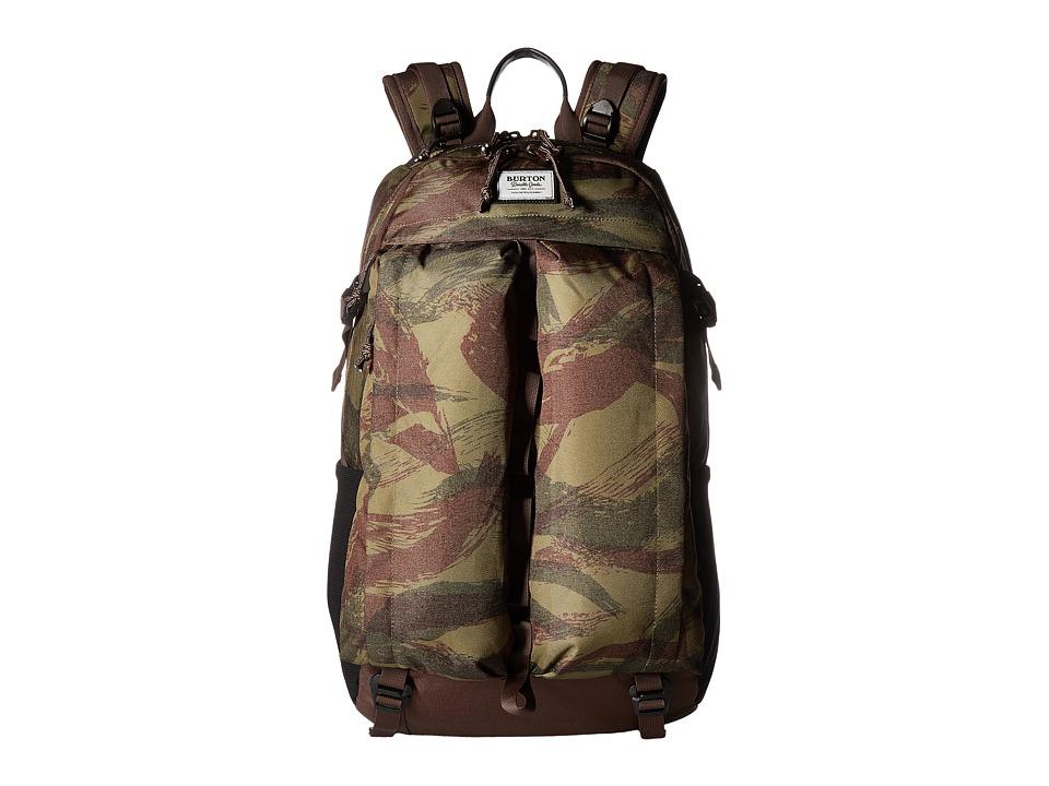 Burton Bravo Pack (Brushstroke Camo) Backpack Bags