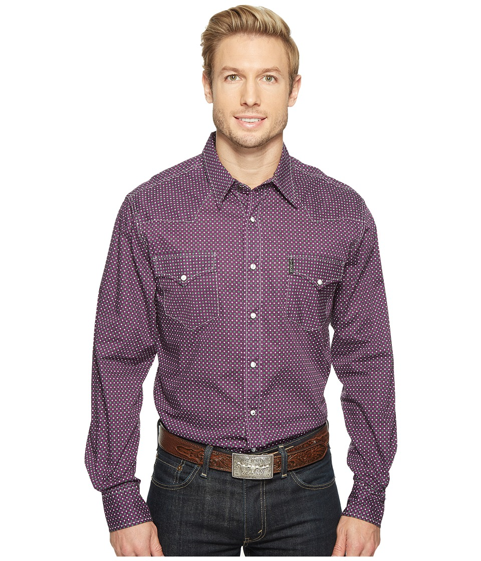 Cinch - Modern Fit Plain Weave (Purple) Men's Clothing
