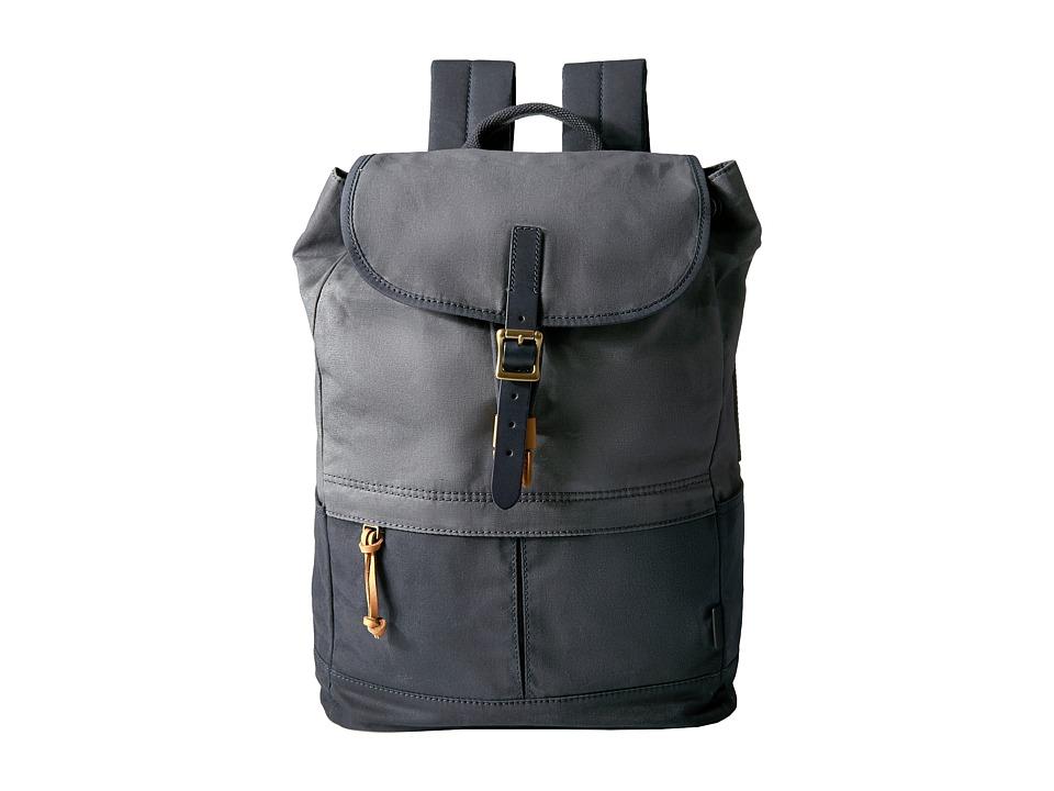 Fossil - Defender Rucksack (Blue) Bags