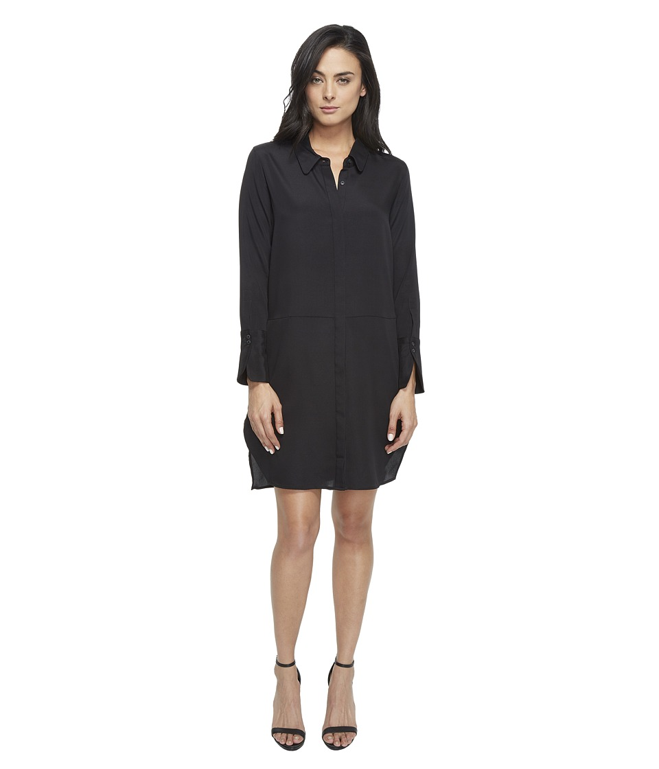 Halston Heritage Long Sleeve ShirtDress
