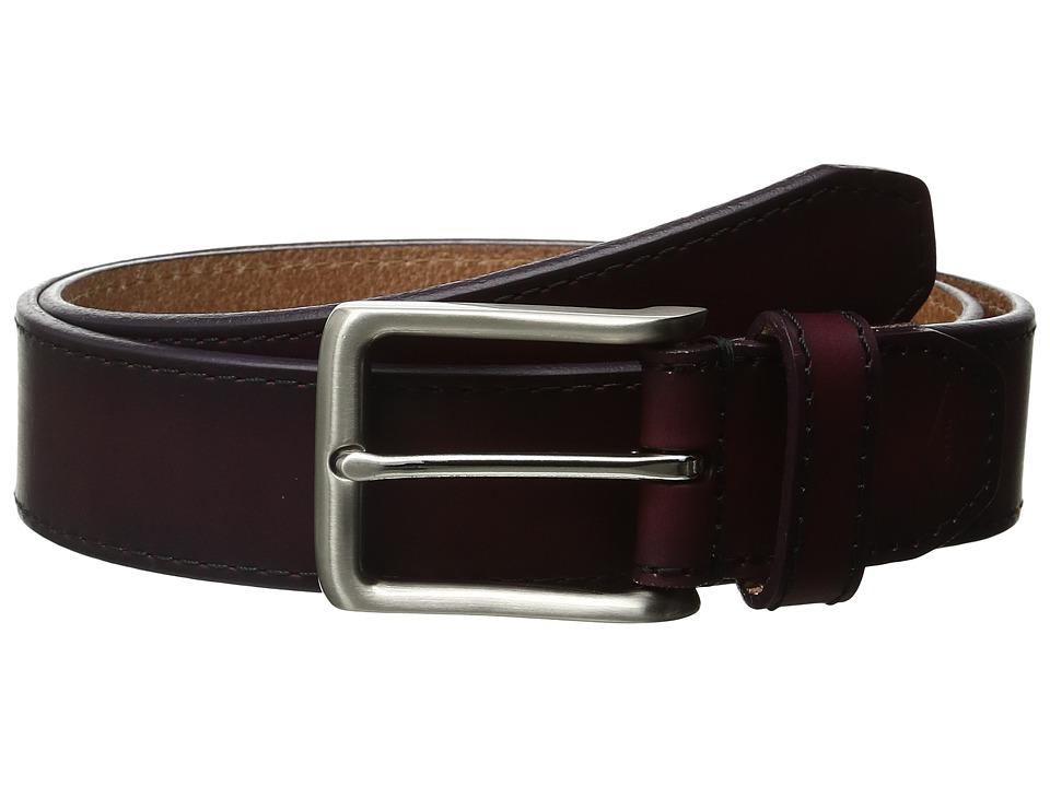Fossil - Griffin Ombre Leather Belt (Cordovan) Men's Belts