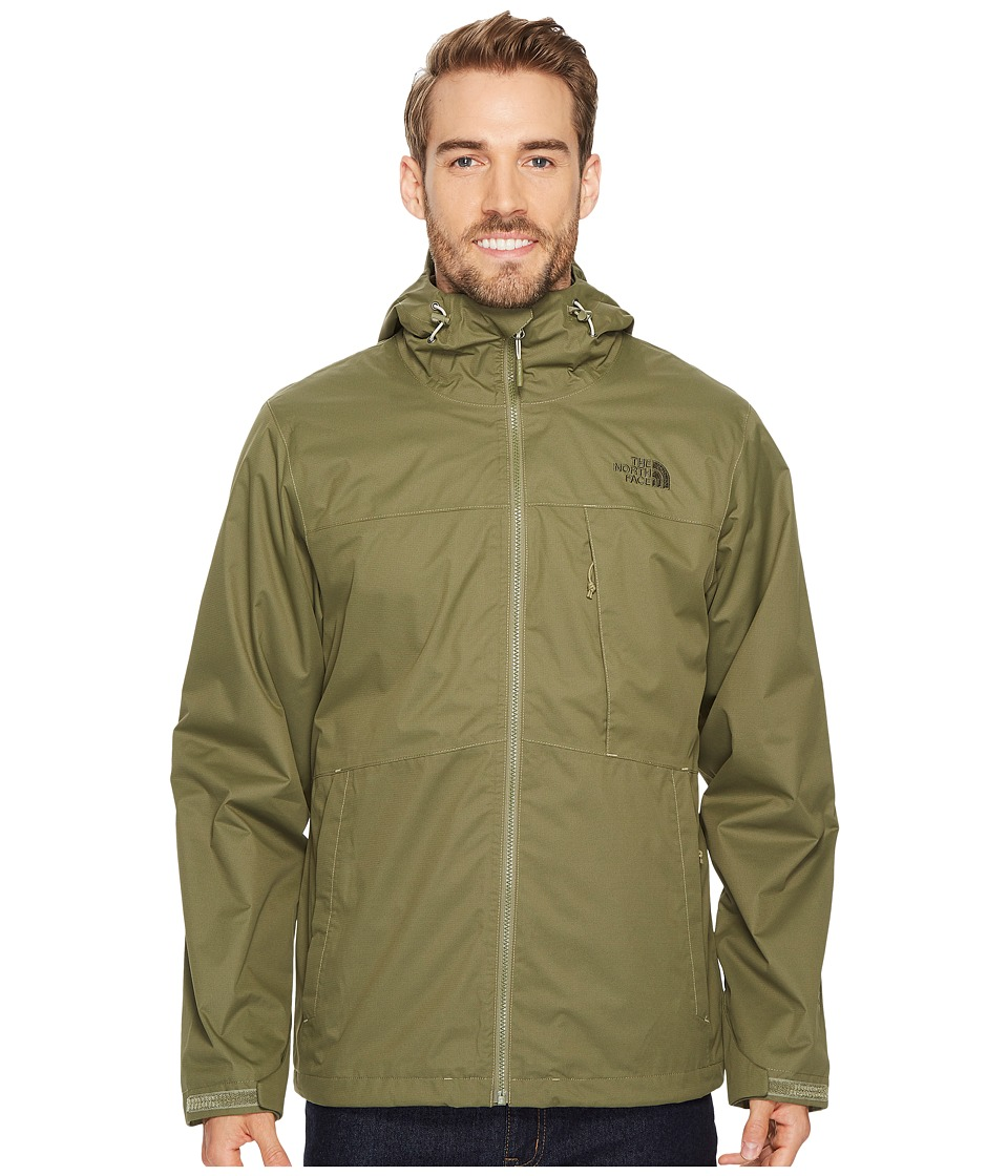 The North Face Arrowwood Triclimate Jacket (Burnt Olive Green) Men