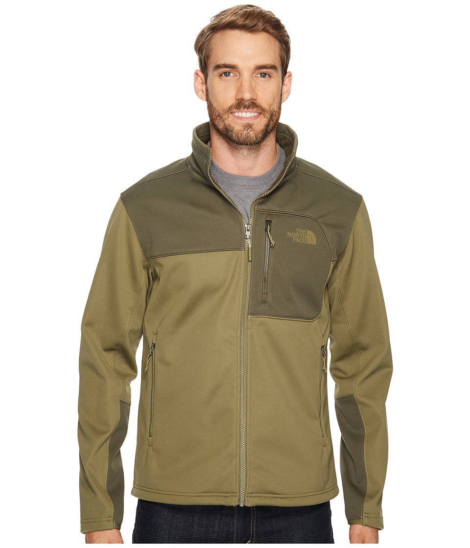 The North Face Apex Risor Jacket (Burnt Olive Green/New Taupe Green) Men