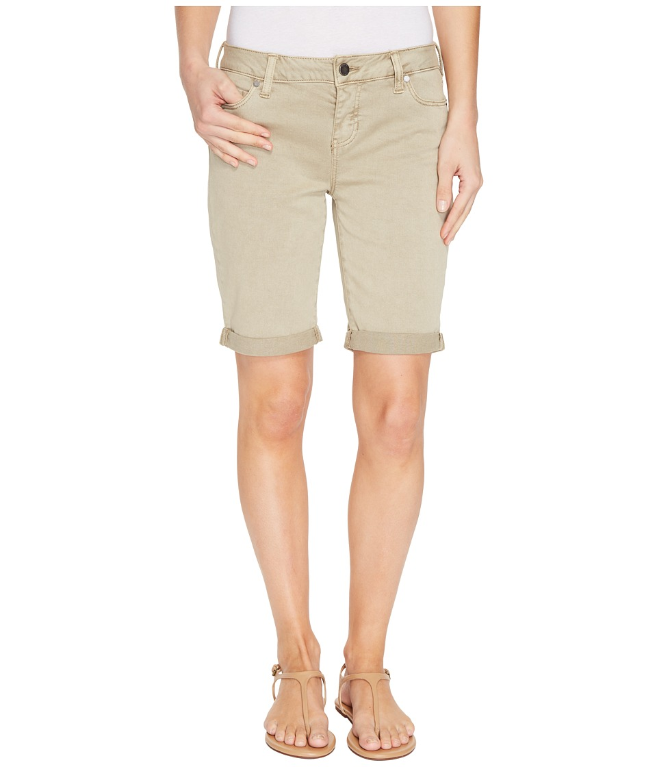 Liverpool - Hayden Boyfriend Shorts in Stretch Peached Twill (Pure Cashmere) Women's Shorts