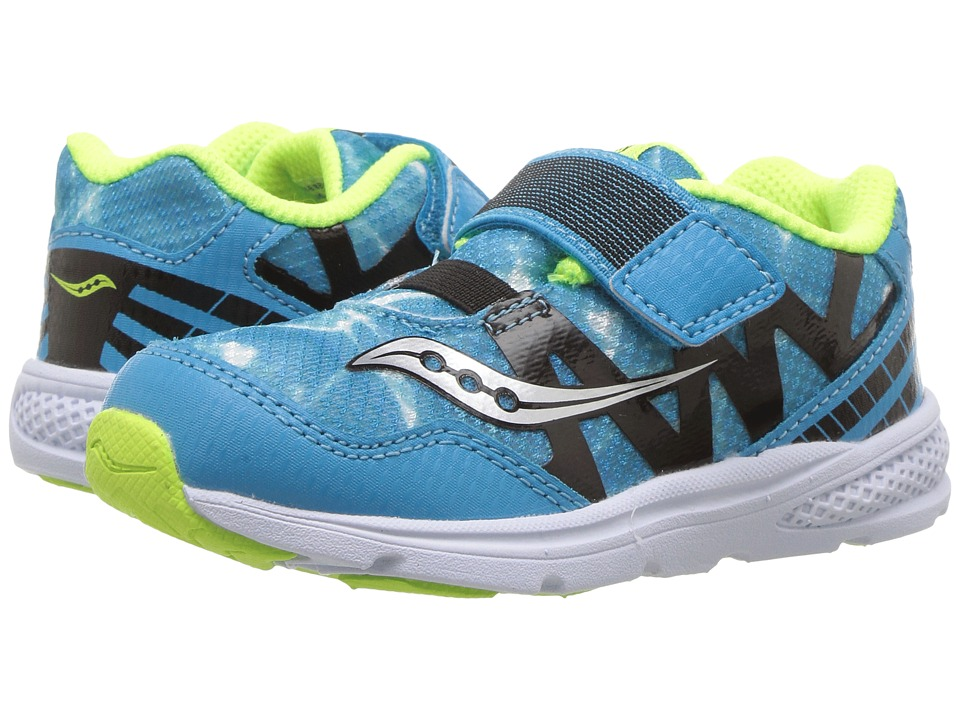 Saucony Kids - Baby Ride Pro (Toddler/Little Kid) (Ocean Wave) Kids Shoes