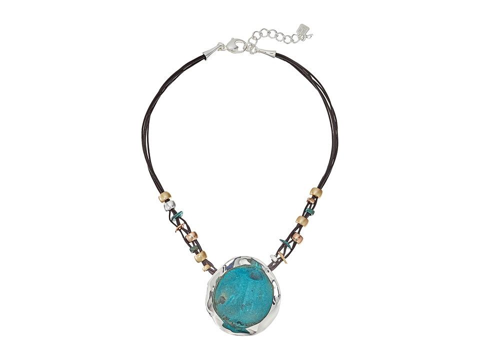 Robert Lee Morris - Patina Sculptural Pendant Necklace (Patina) Necklace