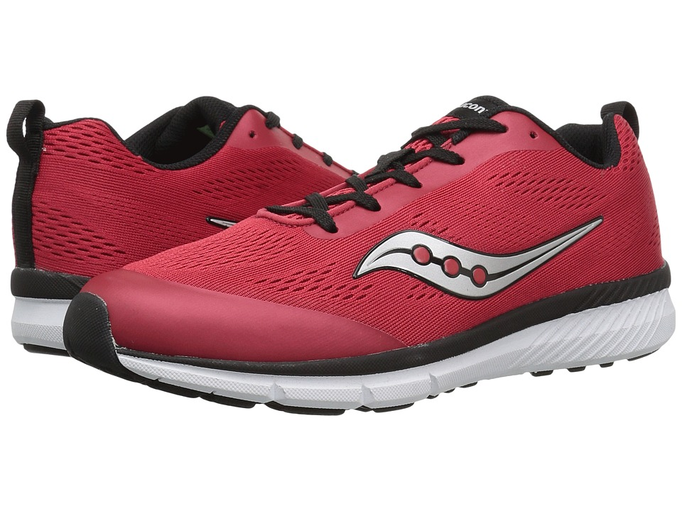 Saucony Kids Ideal (Little Kid/Big Kid) (Red) Boys Shoes