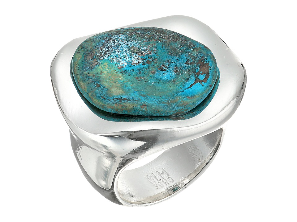 Robert Lee Morris - Patina Stone Sculptural Ring (Patina) Ring