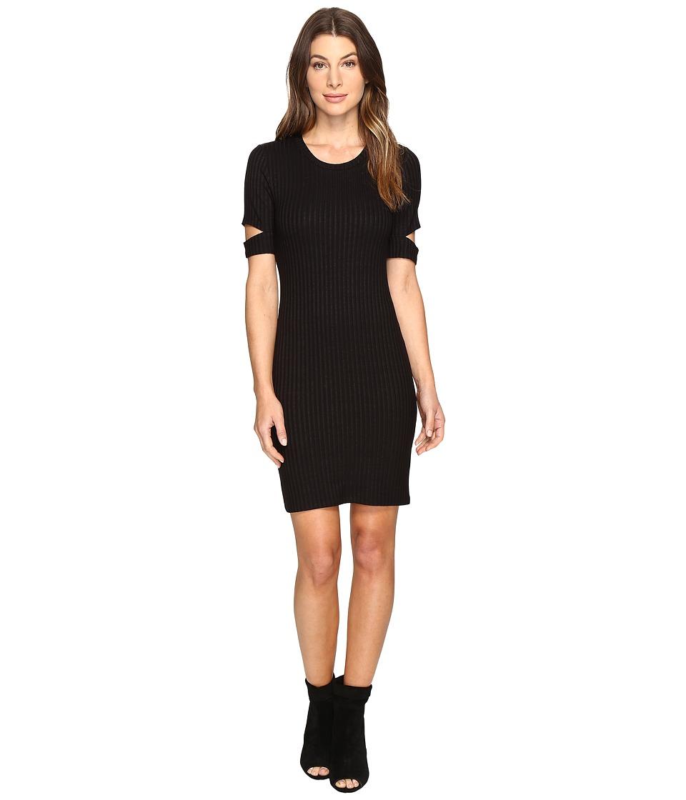 LNA - Mini Esso Dress (Black) Women's Dress