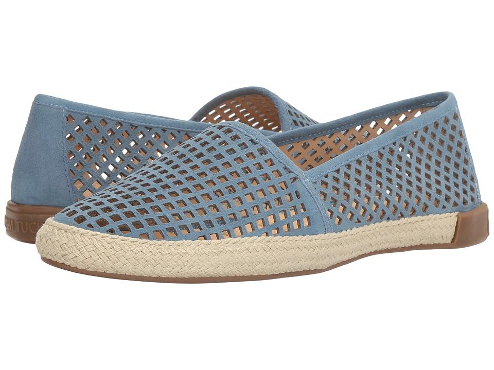 Me Too - Adam Tucker Milo 14 (Ocean Blue Suede) Women's Sandals
