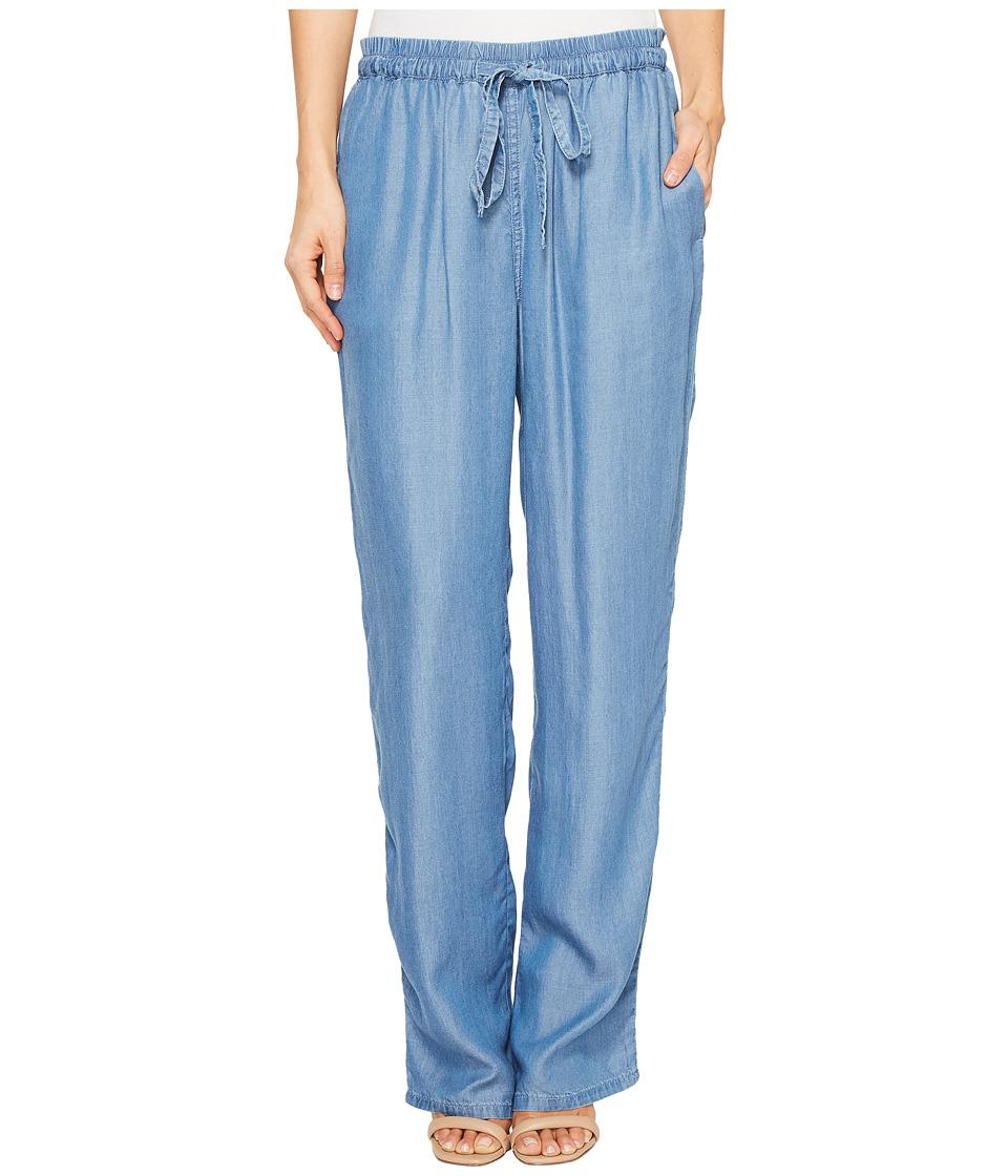 MICHAEL Michael Kors - Tencel Tie Waist Pants (Light Cadet Wash) Women's Casual Pants