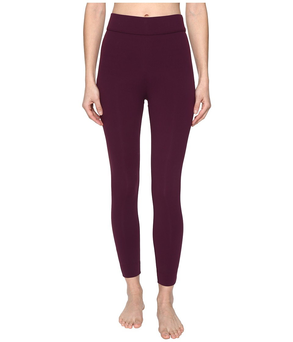NO KA'OI - Kela 7/8 Leggings (Wine) Women's Casual Pants