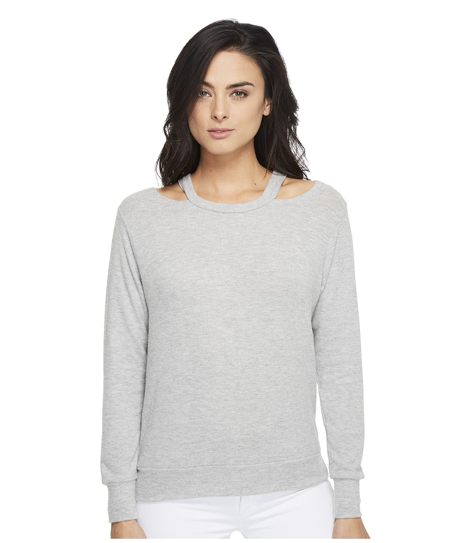 LNA - Bolero Sweater (Heather Grey) Women's Sweater