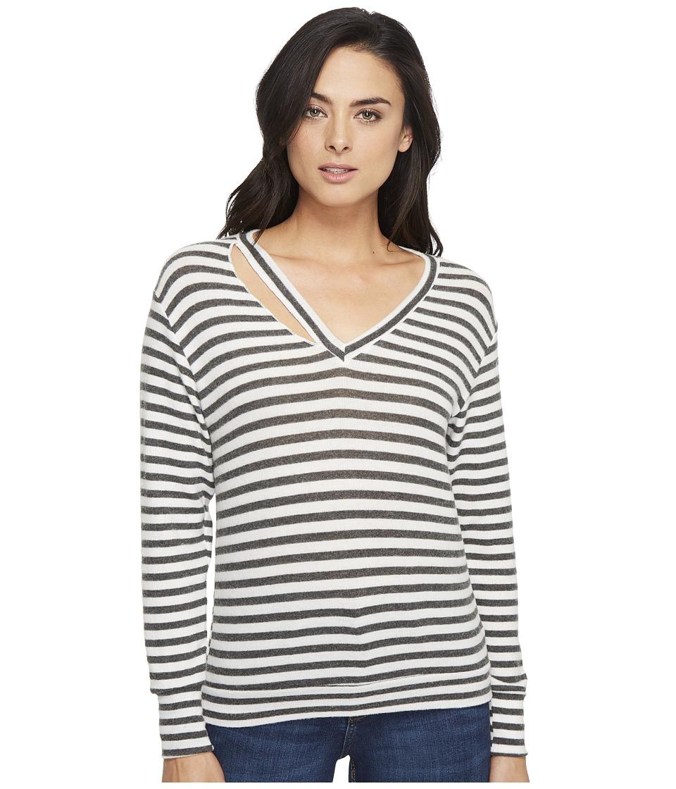 LNA - Fallon Sweater (Natural Stripe) Women's Sweater