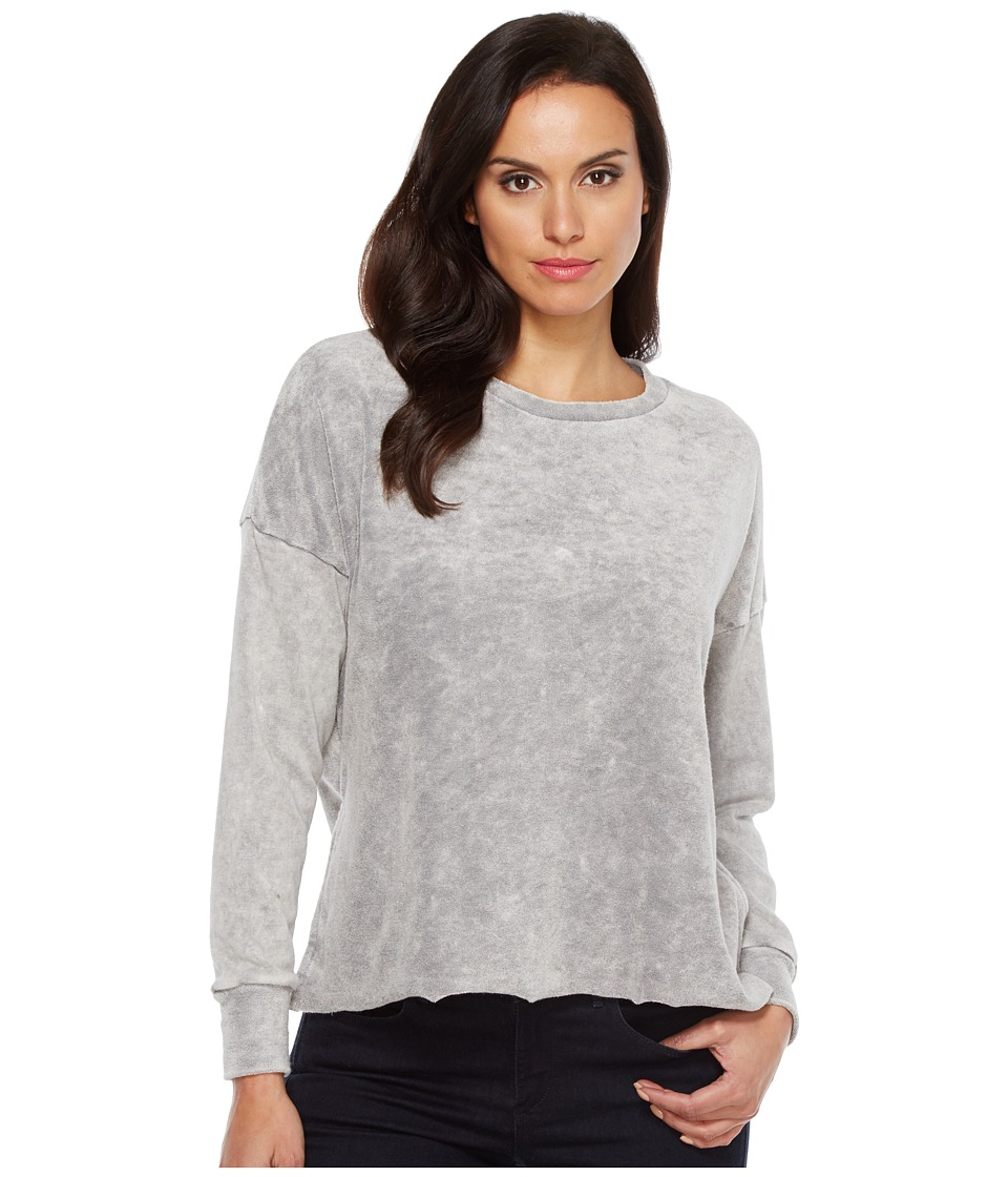 LNA - Inside Out Raglan Sweatshirt (Heather Grey) Women's Sweatshirt