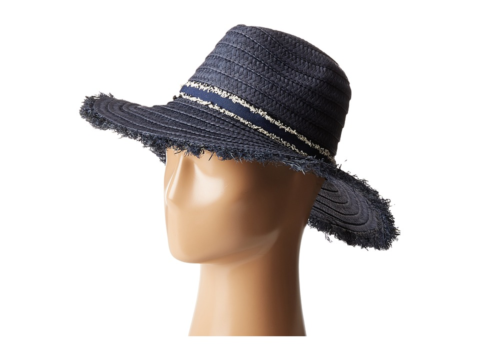 Echo Design - Capri Panama Hat (Navy) Caps