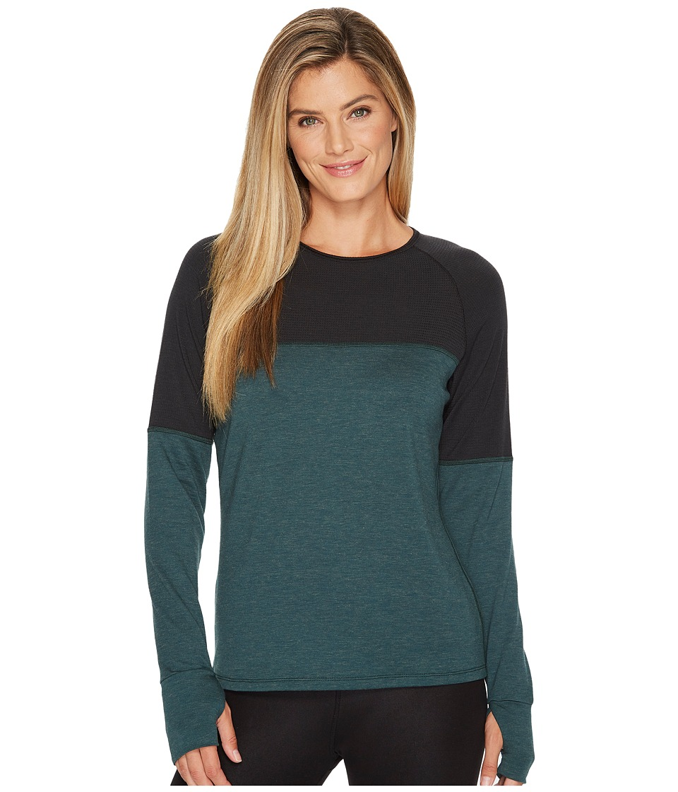 Skirt Sports Wonder Wool Long Sleeve (Forest Wool) Women