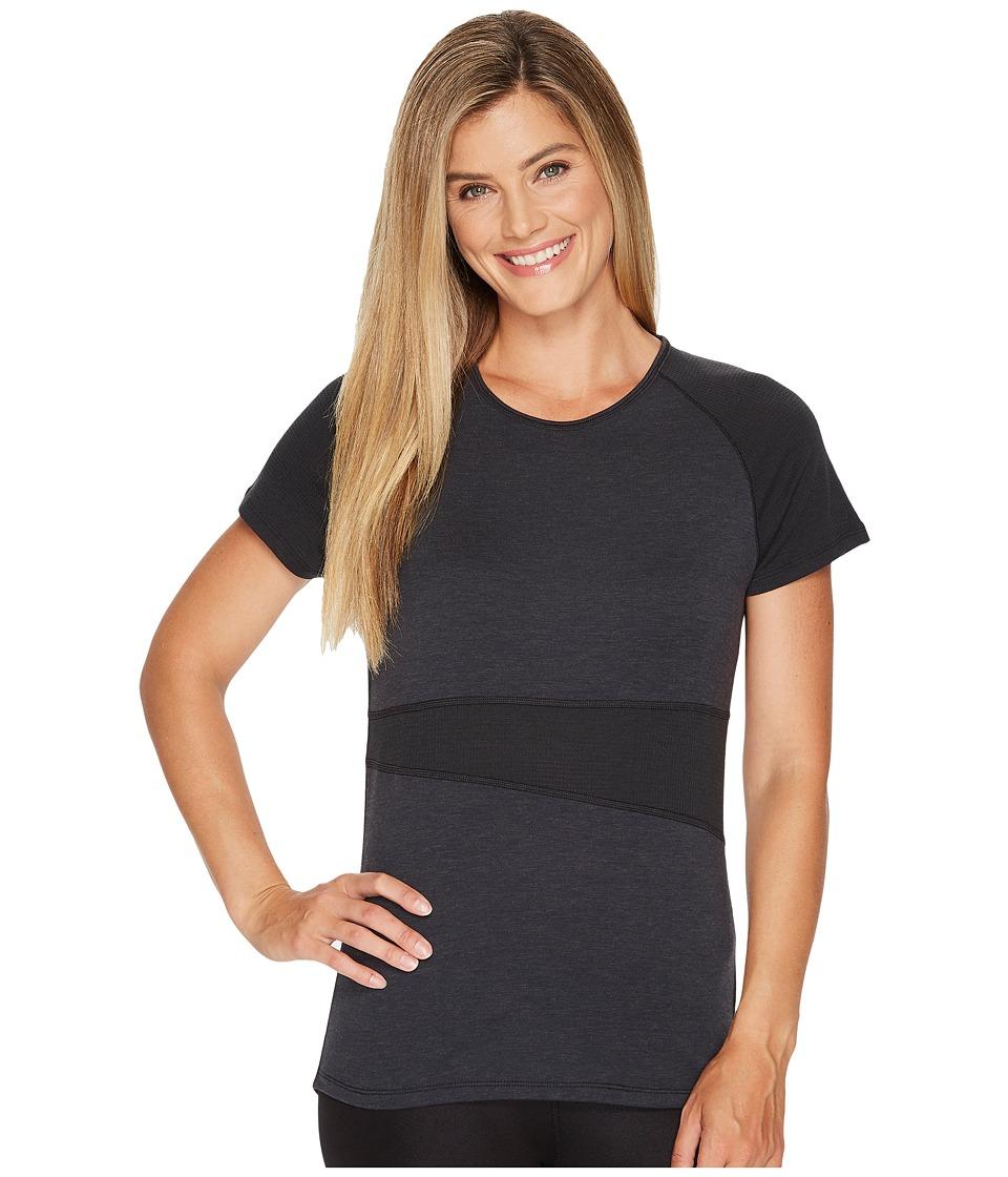 Skirt Sports Wonder Wool Tee (Black Wool) Women