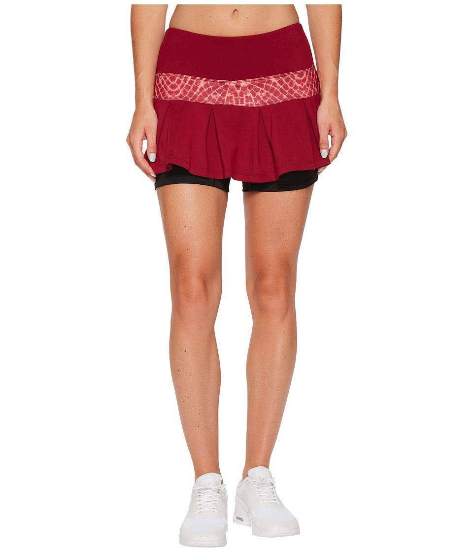Skirt Sports Lioness Skirt (Ruby/Flyaway Print) Women