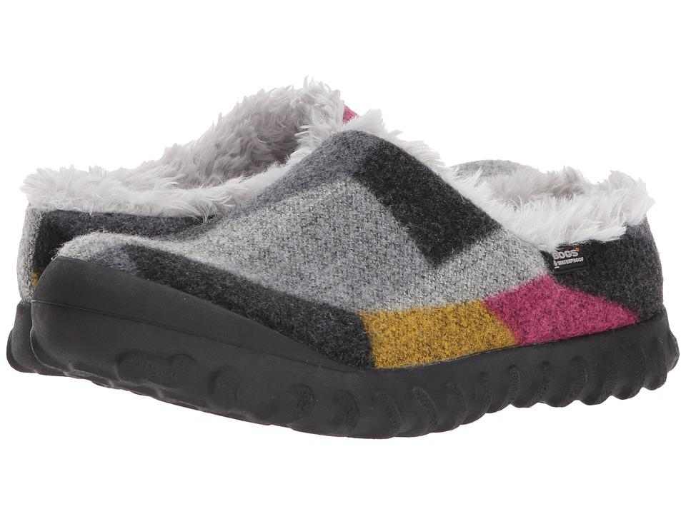 Bogs B-Moc Slip-On Wool (Dark Gray/Gold) Women