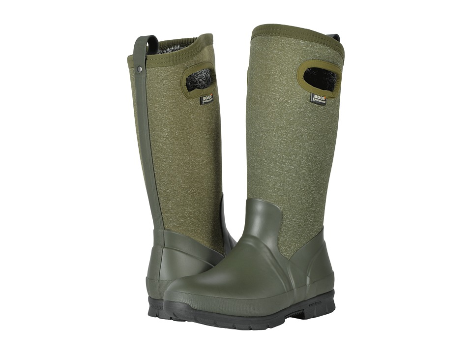 Bogs Crandall Tall (Dark Green Multi) Women