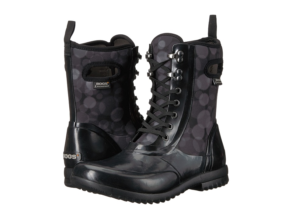 Bogs Sidney Lace Rain (Black Multi) Women