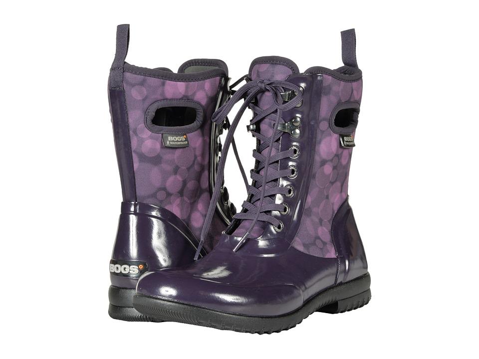 Bogs Sidney Lace Rain (Eggplant Multi) Women