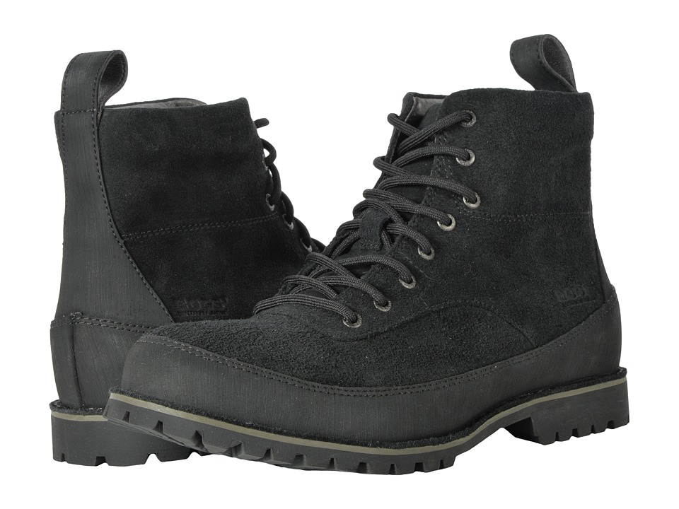 Bogs Casper Lace (Black) Men's Boots