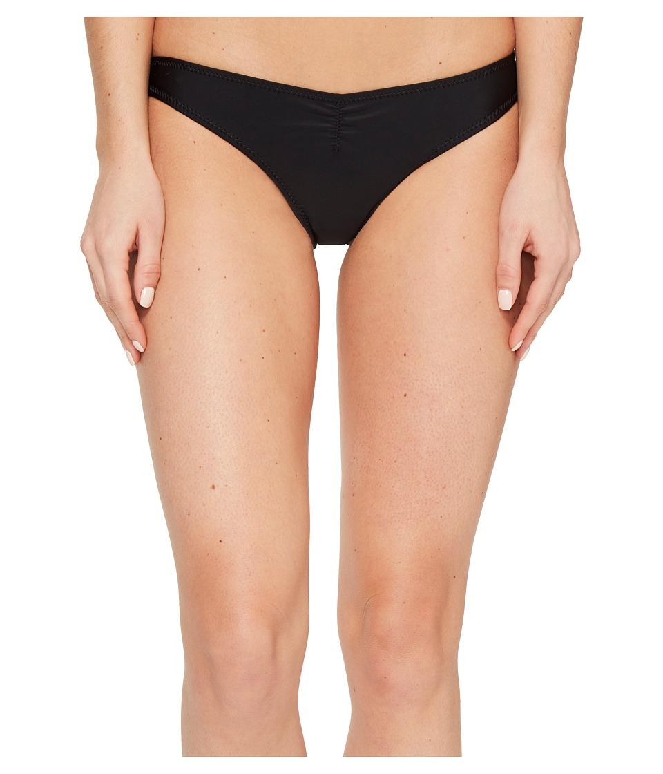 Volcom - Simply Solid V Pants Bottom (Black) Women's Swimwear