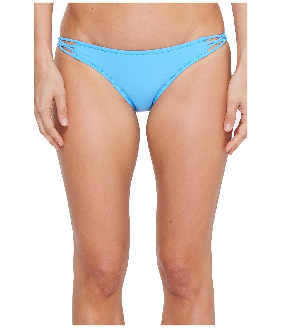 Volcom - Simply Solid Full Bottom (Coastal Blue) Women's Swimwear