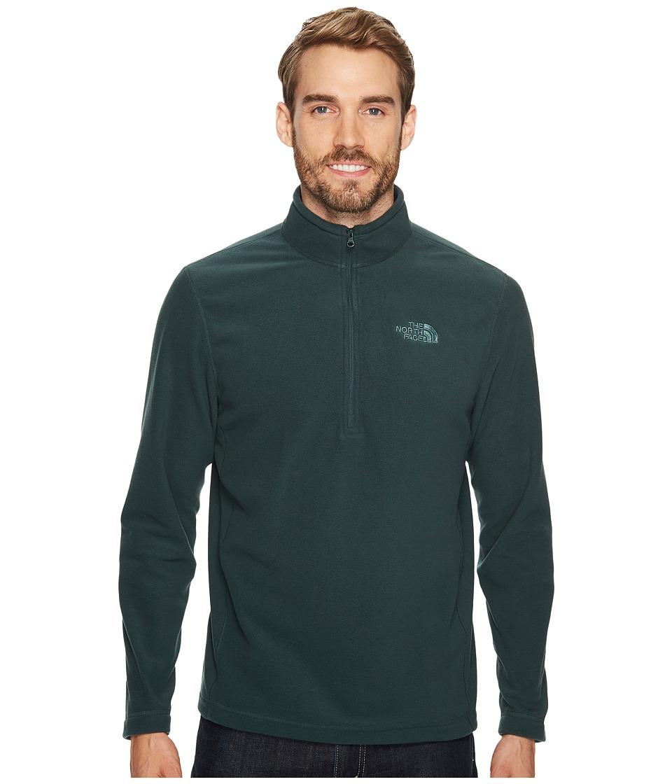 The North Face - TKA 100 Glacier 1/4 Zip (Darkest Spruce) Men's Sweatshirt