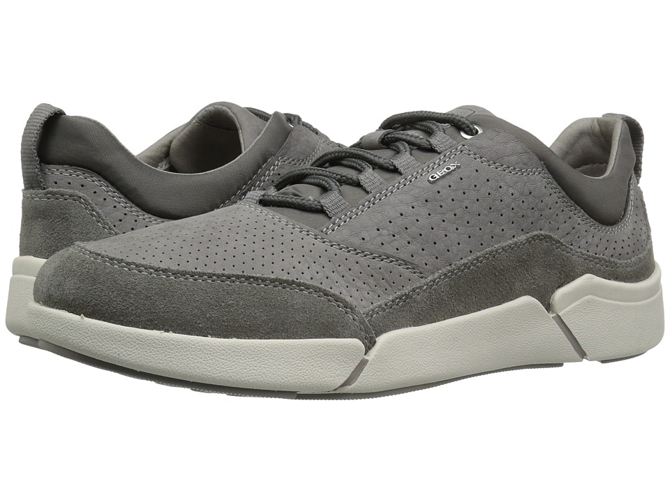 Geox - M AILAND 3 (Grey) Men's Lace up casual Shoes
