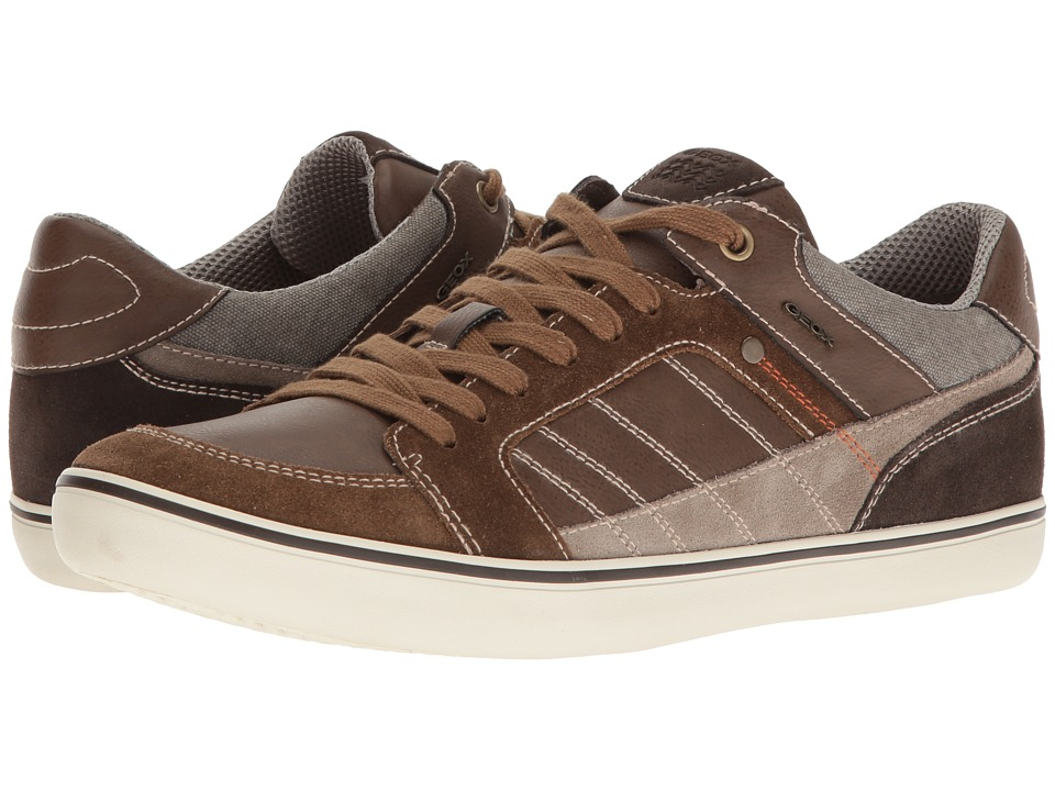 Geox - M BOX 25 (Brown/Cigar) Men's Lace up casual Shoes