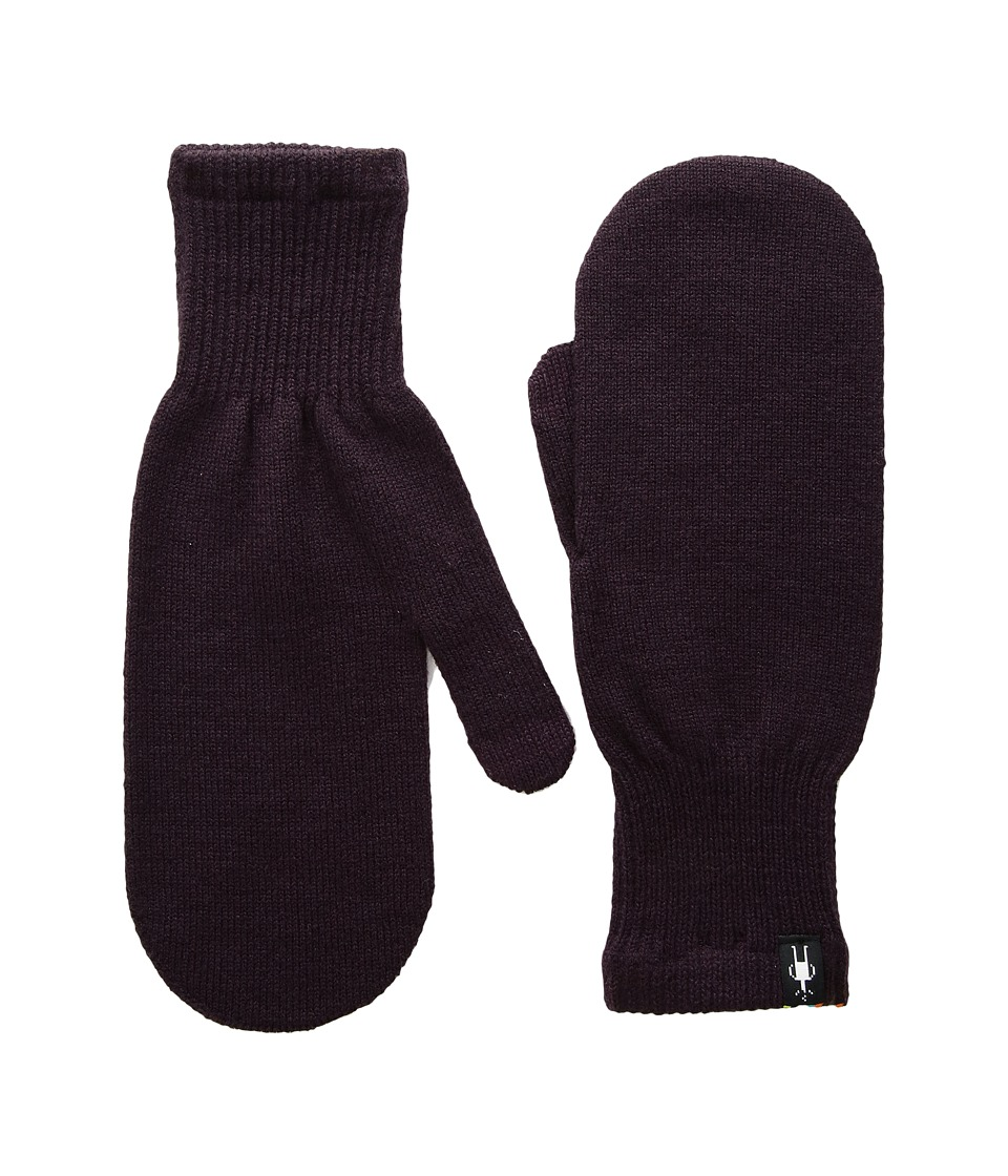 Smartwool Knit Mitt (Bordeaux) Over-Mits Gloves