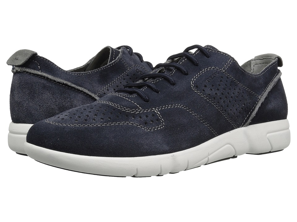 Geox - M BRATTLEY 2 (Navy) Men's Lace up casual Shoes